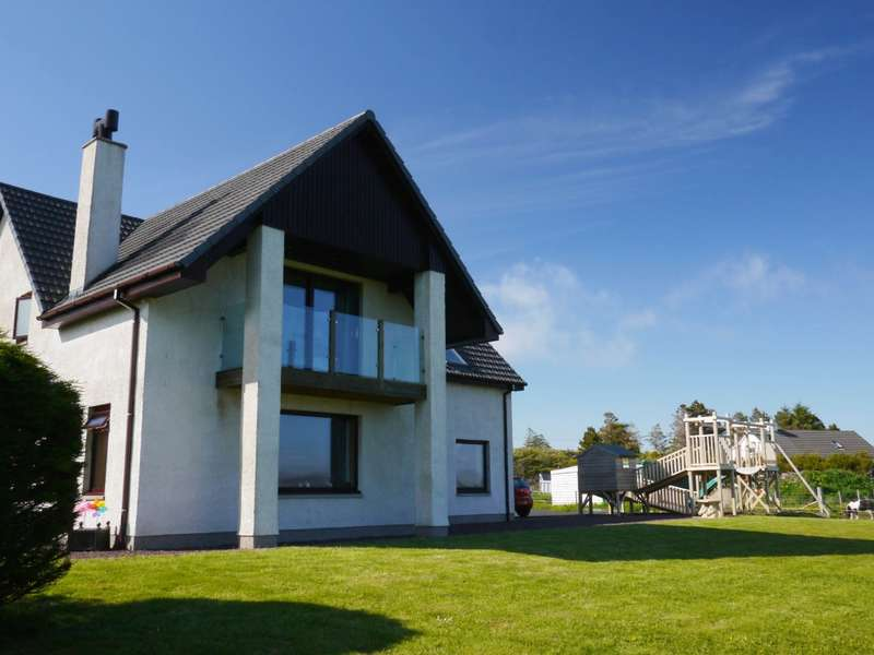4 Bedrooms Detached House for sale in Clearview , 12 Coast, Inverasdale, Poolewe, IV22 2LR