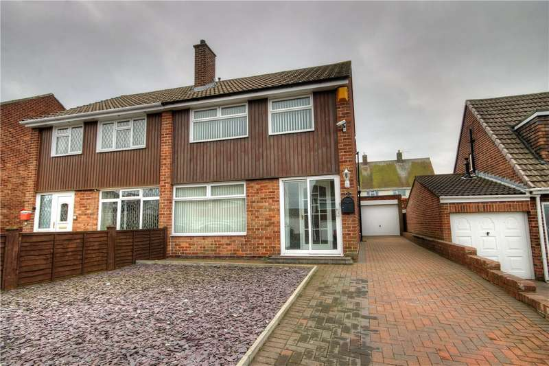 3 Bedrooms Semi Detached House for sale in Runnymede, Great Lumley, Chester le Street, DH3
