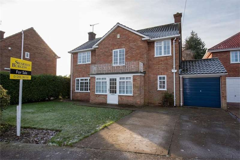 4 Bedrooms Detached House for sale in Allington Garden, Boston, Lincolnshire