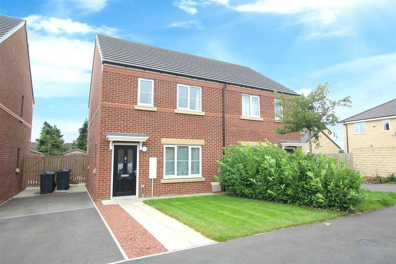 3 Bedrooms Semi Detached House for sale in Pintail Close, Darlington