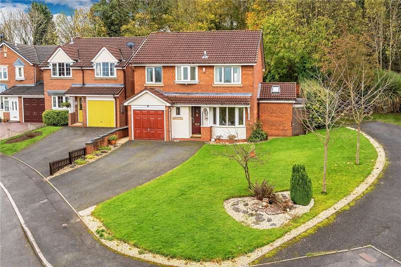 4 Bedrooms Detached House for sale in Coppice End, 23 Reynards Coppice, Telford, Shropshire, TF7