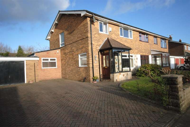3 Bedrooms Semi Detached House for sale in Westfield Grove, Whitley, Wigan