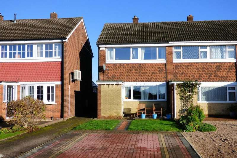 3 Bedrooms End Of Terrace House for sale in Hurst Drive, Stretton