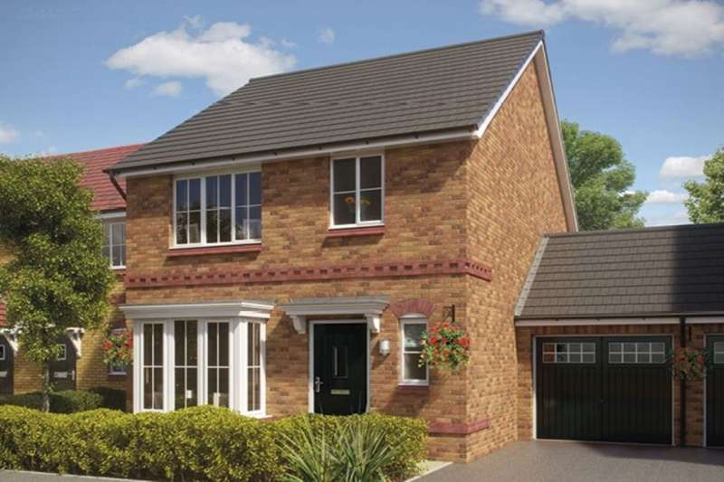 3 Bedrooms Detached House for sale in Silkin Park Hinkshay Road, Dawley, Telford, TF4