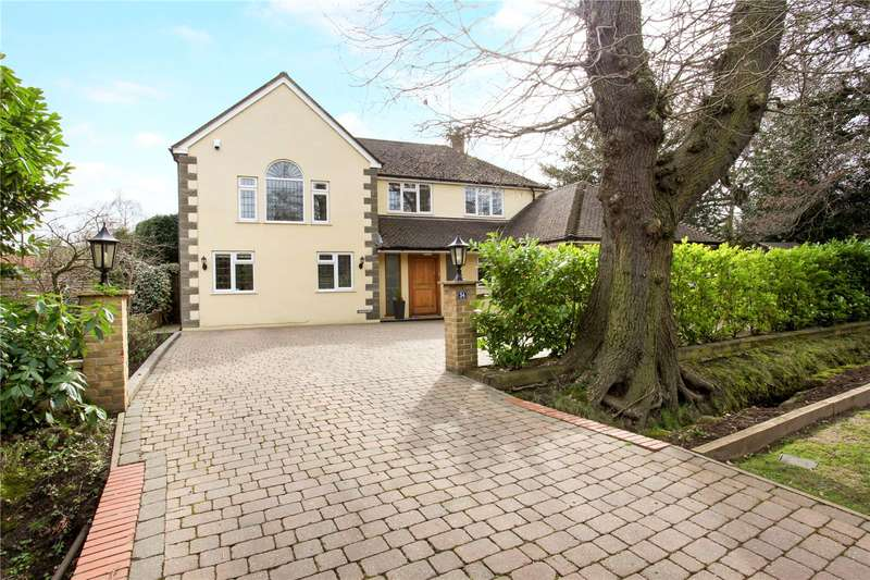 5 Bedrooms Detached House for sale in Dartnell Avenue, West Byfleet, Surrey, KT14