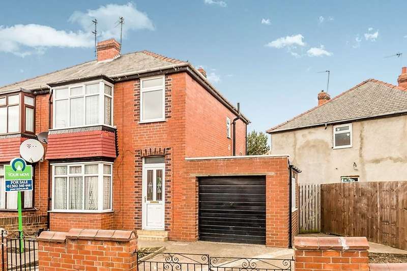 3 Bedrooms Semi Detached House for sale in Chequer Avenue, Belle Vue, Doncaster, DN4
