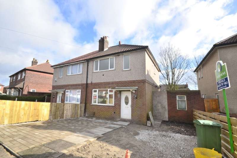 3 Bedrooms Semi Detached House for sale in Crescent Avenue, Farnworth, Bolton, BL4
