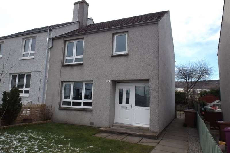 3 Bedrooms Semi Detached House for sale in Hillside Avenue, Dufftown, Keith, AB55