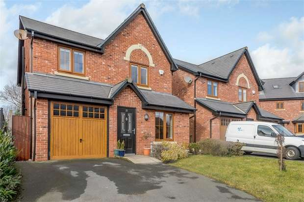 4 Bedrooms Detached House for sale in Stonemill Rise, Appley Bridge, Wigan, Lancashire