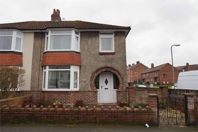 3 Bedrooms Semi Detached House for sale in CA2 4DX Alton Street, Currock, Carlisle, Cumbria