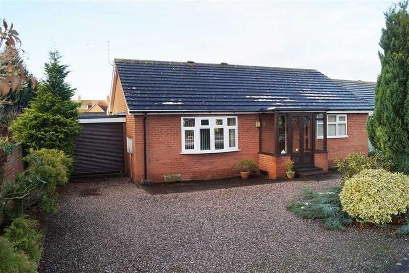 2 Bedrooms Bungalow for sale in Annefield Close, Market Drayton, TF9