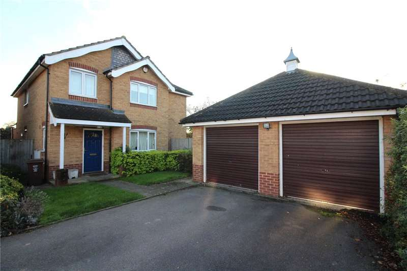 4 Bedrooms Detached House for sale in Suffolk Close, London Colney, St. Albans, Hertfordshire, AL2