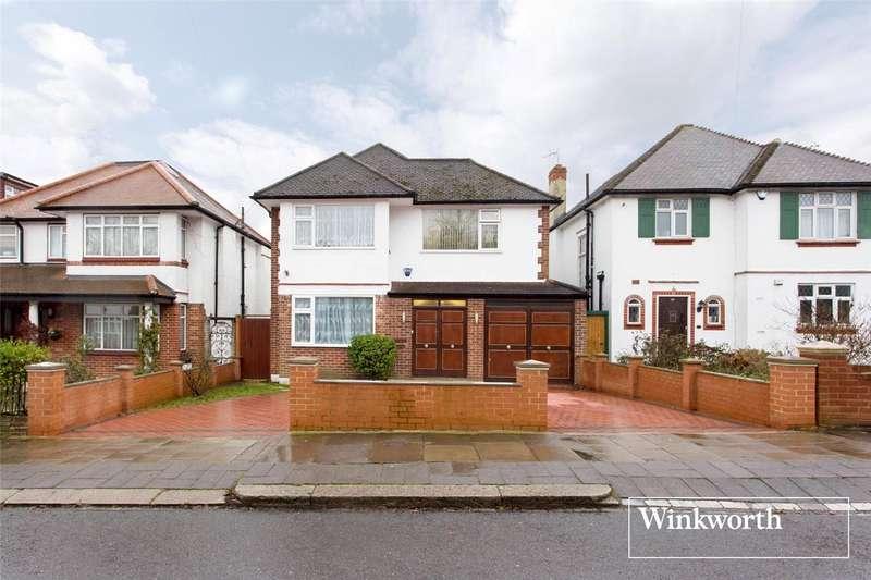 3 Bedrooms Detached House for sale in Greenway, Totteridge, London, N20