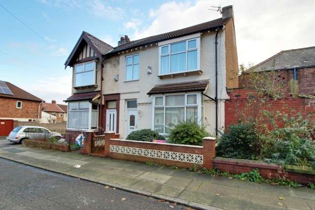 3 Bedrooms Semi Detached House for sale in Albany Road, Liverpool, Merseyside, L9 0EY