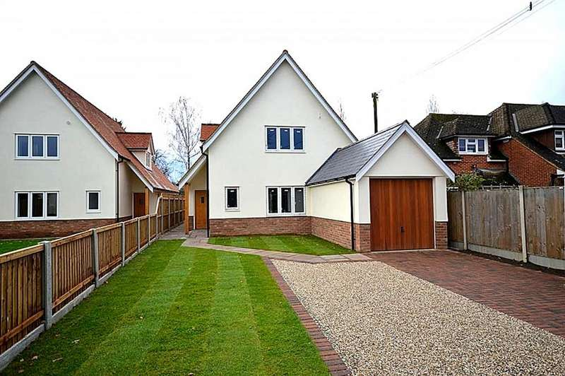 4 Bedrooms Detached House for sale in Post Office Road, Woodham Mortimer, Maldon, Essex, CM9