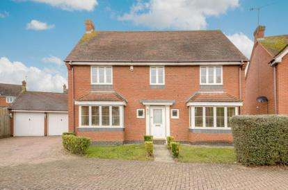 4 Bedrooms Detached House for sale in Markenfield Place, Kingsmead, Milton Keynes