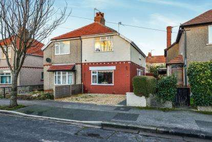 3 Bedrooms Semi Detached House for sale in Balmoral Avenue, Heysham, Morecambe, Lancashire, LA3