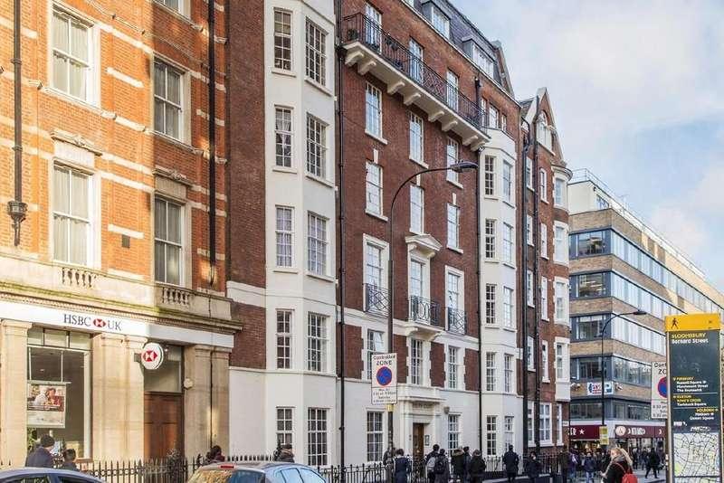 3 Bedrooms Flat for sale in Bernard Street, Bloomsbury