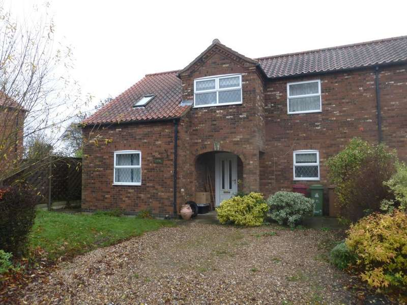 2 Bedrooms Semi Detached House for rent in Thorn lane , Goxhill, North Lincolnshire , DN19 7LU