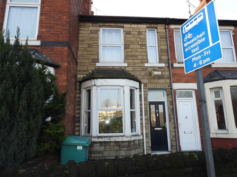 2 Bedrooms Terraced House for sale in Nottingham Road, Nottingham