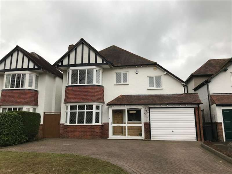 4 Bedrooms Detached House for sale in Sharmans Cross Road, Solihull, B91 1PH