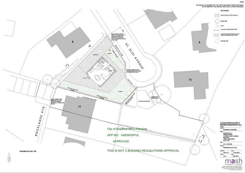 Plot Commercial for sale in Rocklands Avenue, Baildon, West Yorkshire