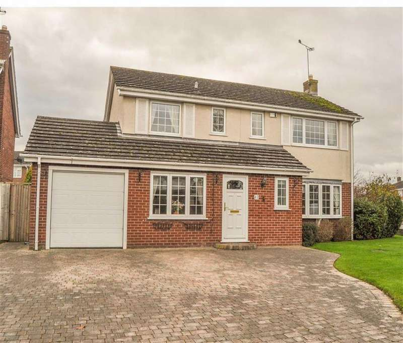 4 Bedrooms Detached House for sale in Vincent Drive, Westminster Park, Chester, Chester