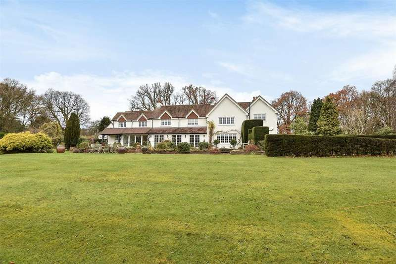 5 Bedrooms Detached House for sale in Rowledge, Farnham, Surrey