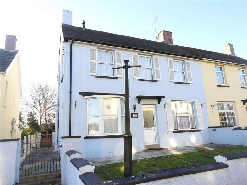 3 Bedrooms Semi Detached House for sale in Bron Y Dre, Cardigan