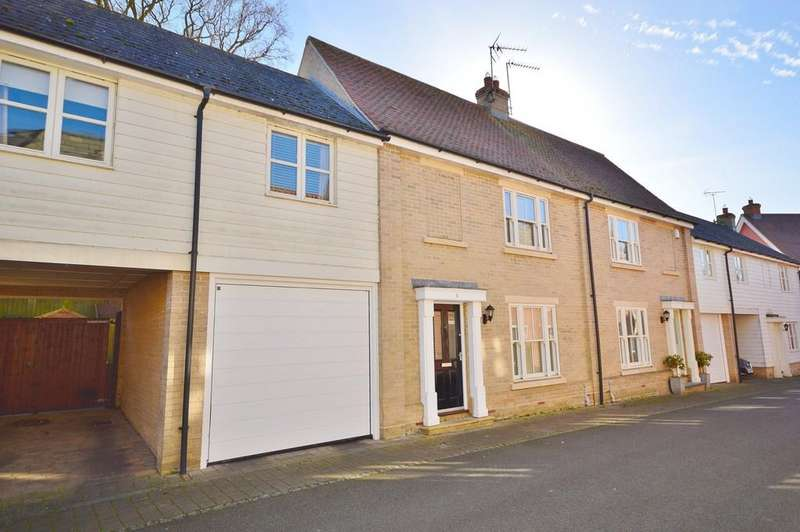3 Bedrooms Terraced House for sale in Barley Close, Mistley, Manningtree