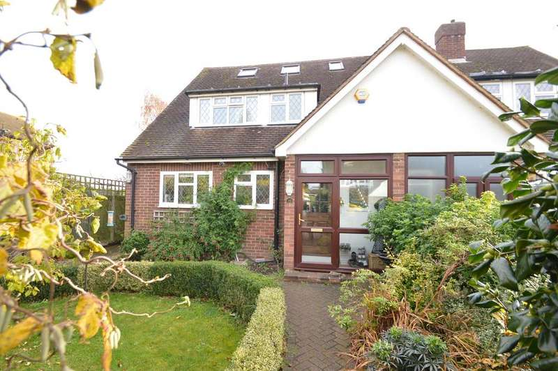 4 Bedrooms Semi Detached House for sale in Thrupps Lane, HERSHAM VILLAGE KT12