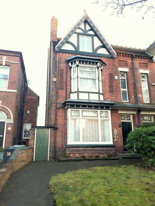 5 Bedrooms Semi Detached House for sale in Lichfield Road, Walsall