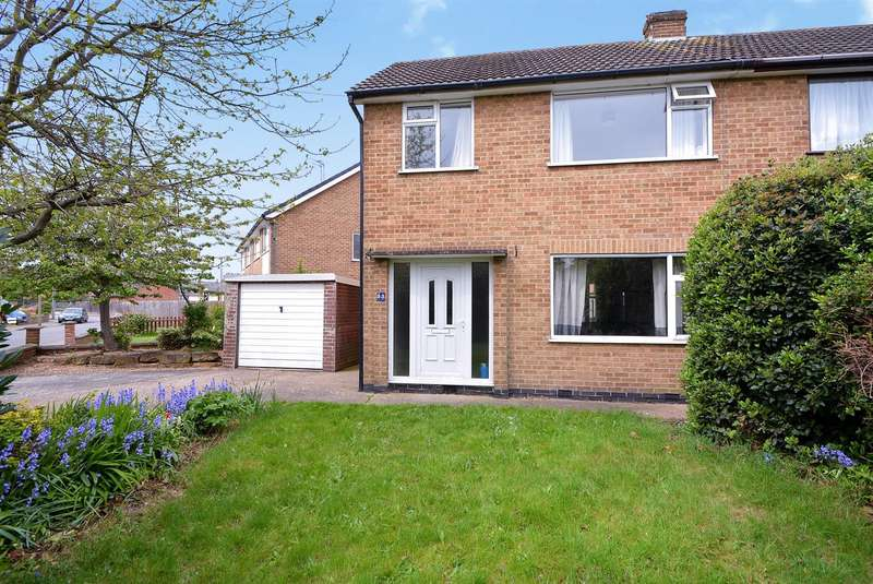 3 Bedrooms Semi Detached House for sale in Norfolk Avenue, Toton