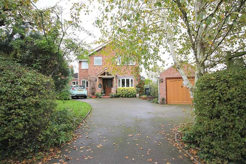 4 Bedrooms Detached House for sale in Main Road, Harlaston, B79 9HG