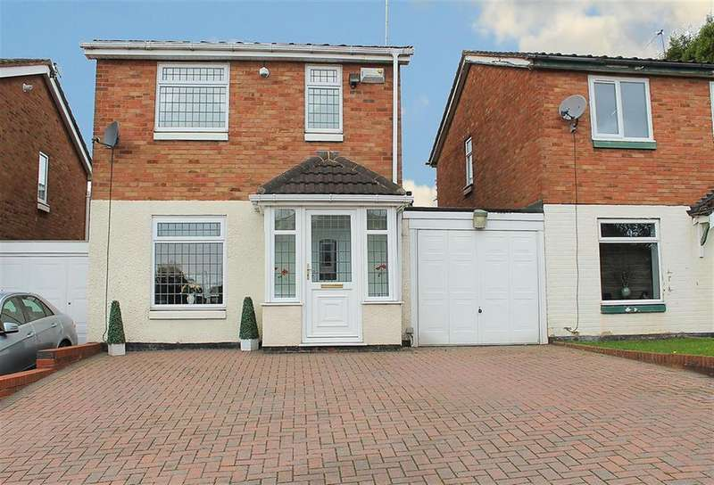 3 Bedrooms Semi Detached House for sale in Dace, Dosthill, Tamworth, B77 1NT