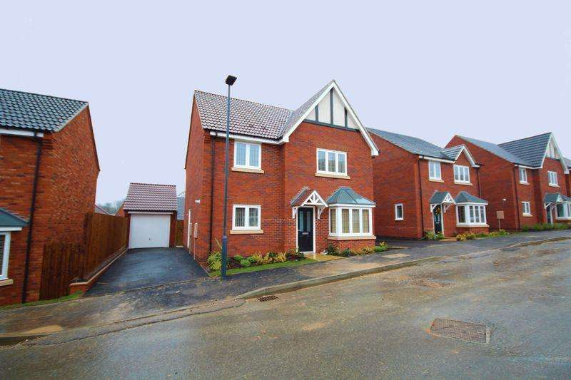 4 Bedrooms Detached House for rent in WOODGATE DRIVE, CHELLASTON, DERBY
