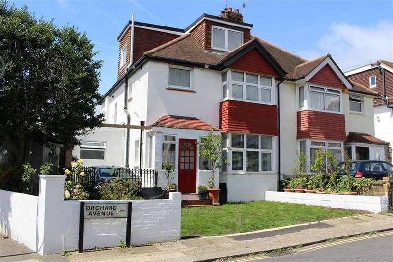 4 Bedrooms Semi Detached House for sale in Orchard Avenue, Hove, East Sussex