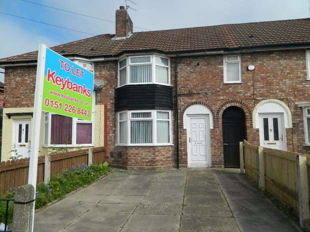3 Bedrooms Terraced House for rent in Cottesbrook Road, Liverpool, L11