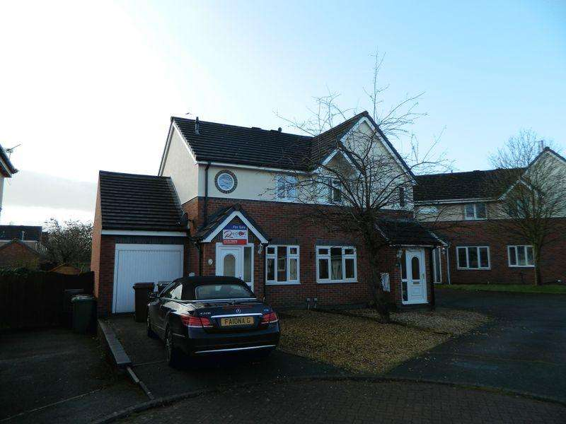 2 Bedrooms House for sale in 9 Welland Close, Sandbach Cheshire CW11 3NZ