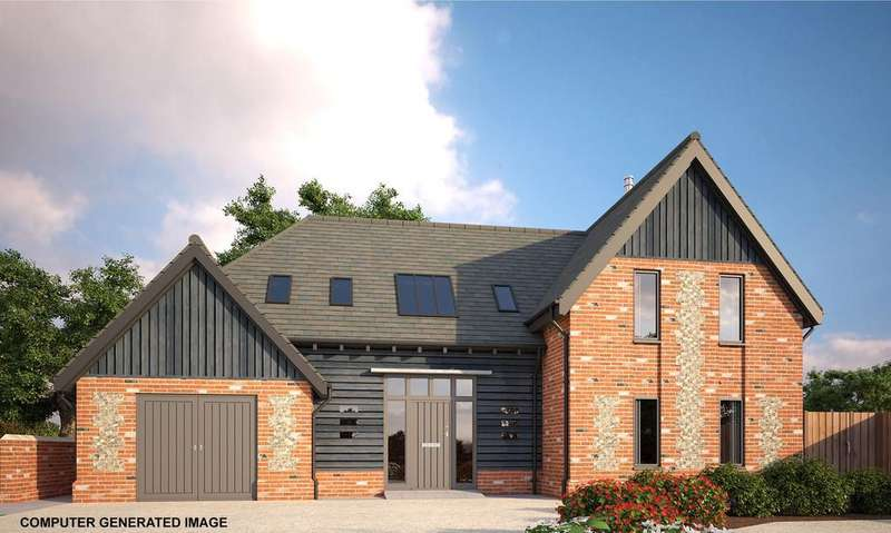 4 Bedrooms Detached House for sale in Church Road, Wretham