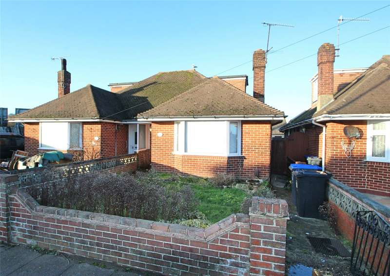 4 Bedrooms Semi Detached Bungalow for sale in Ham Way, Worthing, West Sussex, BN11