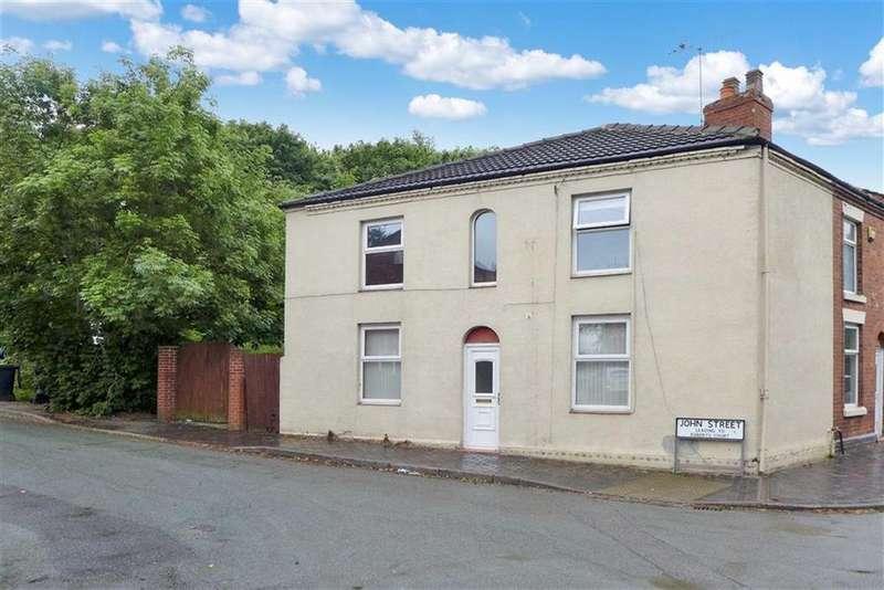 3 Bedrooms Terraced House for sale in John Street, Crewe