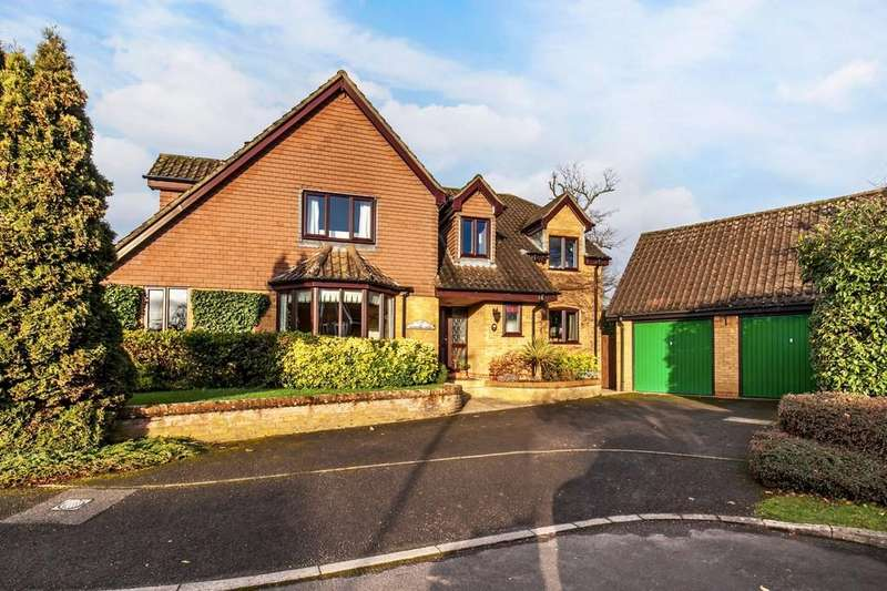 5 Bedrooms Detached House for sale in Cranbourne Drive, Otterbourne, Winchester, SO21