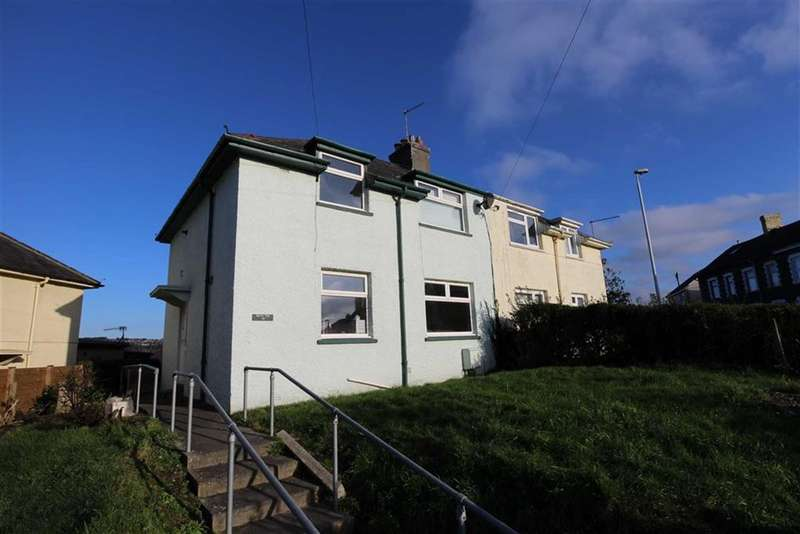 3 Bedrooms Semi Detached House for sale in Third Avenue, Penparcau, Aberystwyth