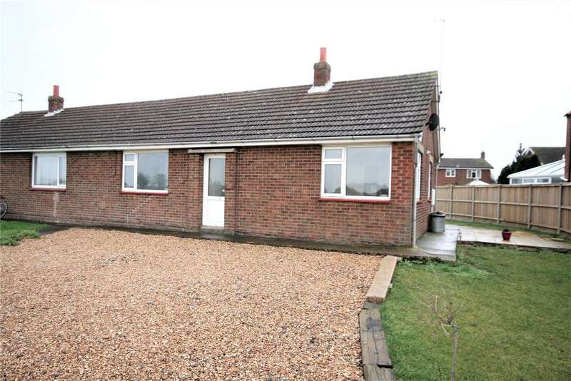 3 Bedrooms Semi Detached Bungalow for sale in Town Drove, Quadring, PE11