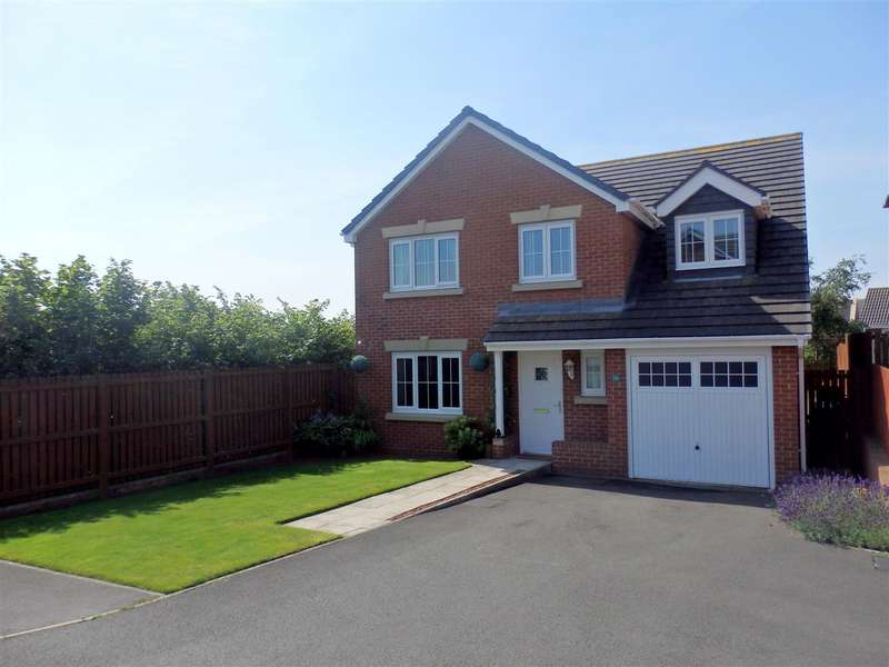 5 Bedrooms Detached House for sale in Beckwith Close, Spennymoor