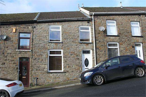 3 Bedrooms Terraced House for sale in Rowling Street, Williamstown, Tonypandy, Rhondda Cynon Taff. CF40 1QY