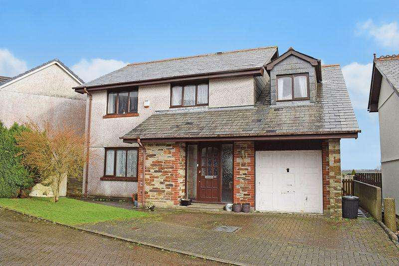 4 Bedrooms Detached House for sale in Liskeard, Cornwall