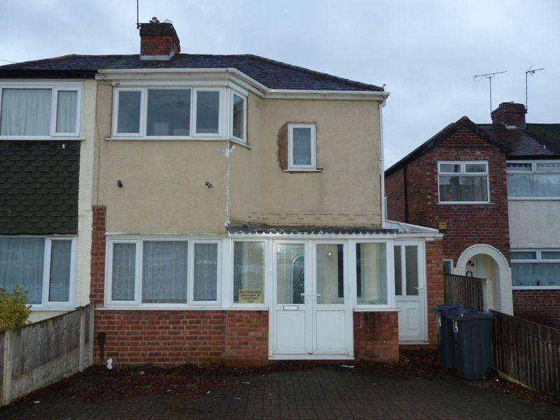 2 Bedrooms Semi Detached House for sale in Glendon Road, Erdington, Birmingham