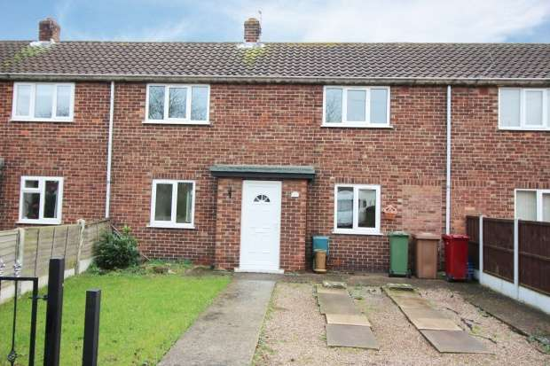 2 Bedrooms Terraced House for sale in Windsor Crescent, Crowle, Lincolnshire, DN17 4EN